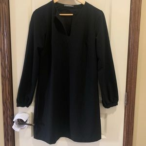 Suzy Shier long sleeve black dress